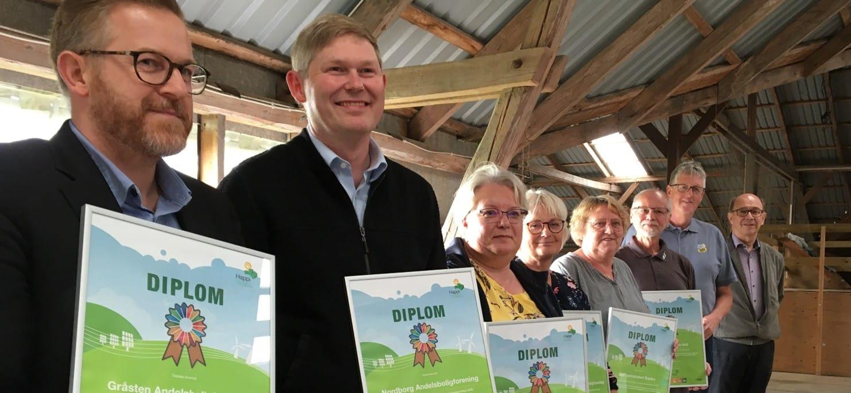 Fælles energi- og klimamål blev fejret på Kær Vestermark